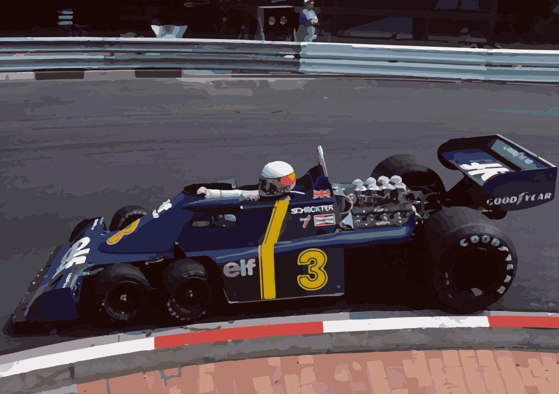 Jody Scheckter – Tyrrell P34 – Monte Carlo 1976