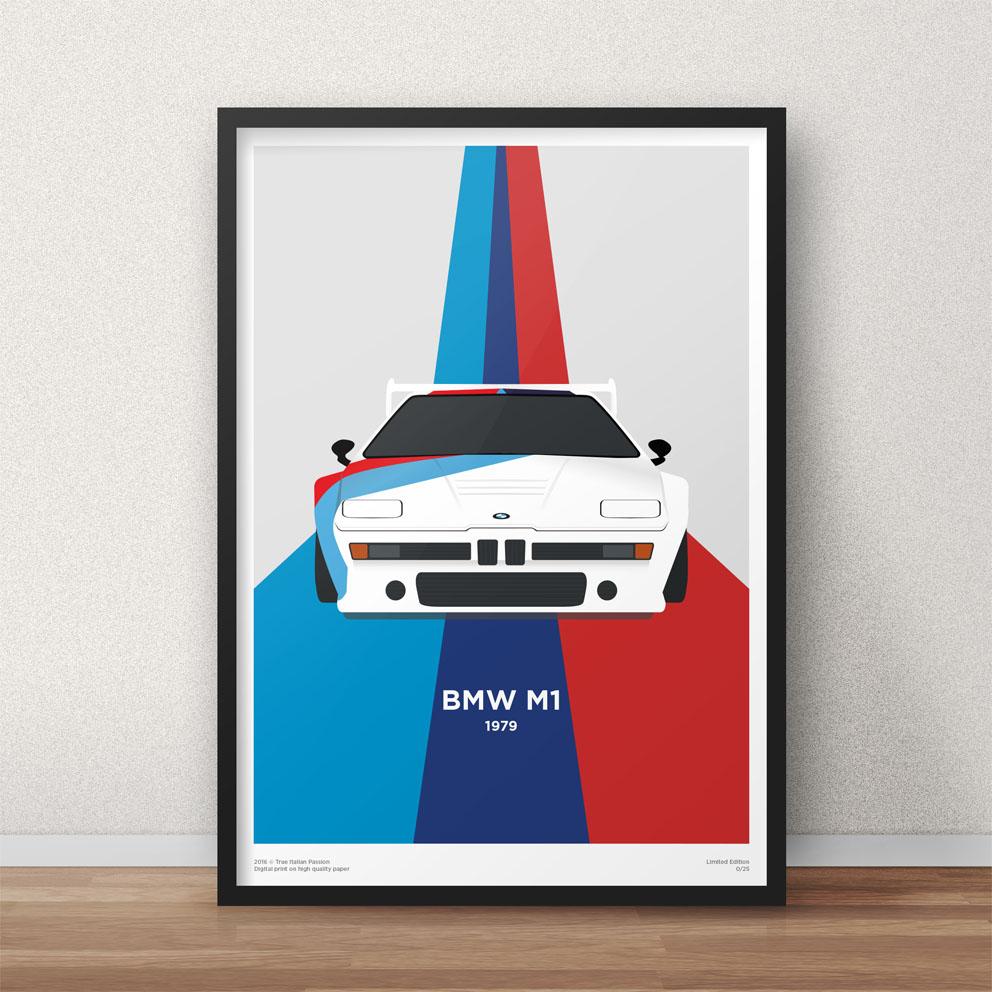 BMW M1 Procar Print Graphic